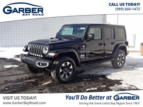 New 2018 Jeep Wrangler Unlimited Sahara 4 door 4x4 4WD