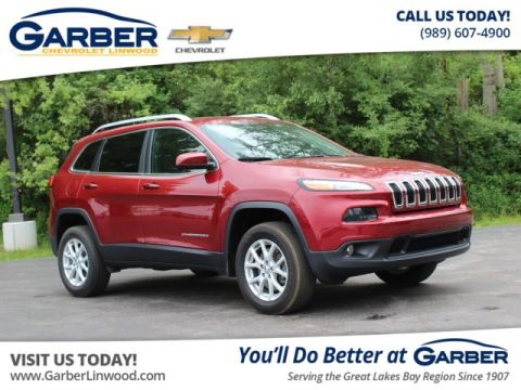 Pre-Owned 2016 Jeep Cherokee Latitude