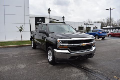 Certified Pre-Owned 2018 Chevrolet Silverado 1500 1LT 4WD