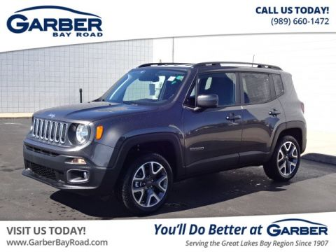 New 2018 Jeep Renegade Latitude 4WD