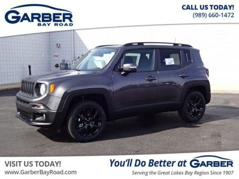 New 2018 Jeep Renegade Altitude Pkg 4x4 4WD