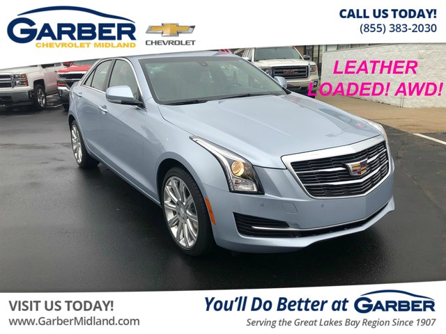 Pre Owned 2017 Cadillac Ats 2 0l Turbo Luxury Sedan In 20151301p