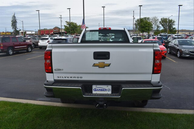 Pre-Owned 2018 Chevrolet Silverado 2500HD WT
