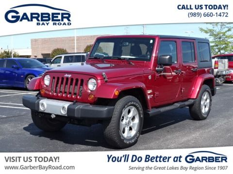 Certified Pre-Owned 2013 Jeep Wrangler Unlimited Sahara 4WD