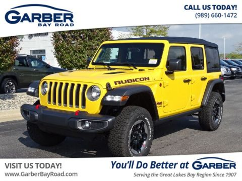 New 2020 Jeep Wrangler Unlimited Rubicon 4WD