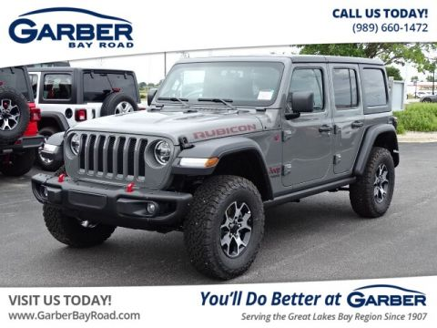 New 2019 Jeep Wrangler Unlimited Rubicon 4WD