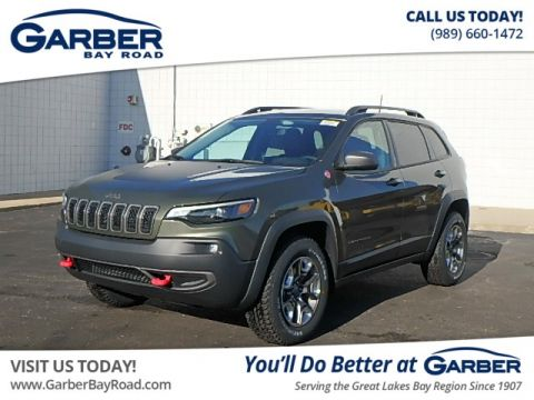 New 2019 Jeep Cherokee Trailhawk 4WD