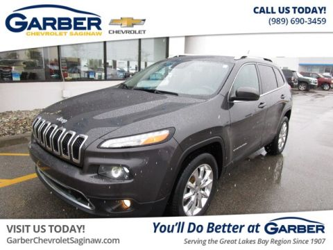 Pre-Owned 2015 Jeep Cherokee Limited With Navigation & 4WD