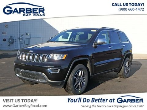 New 2019 Jeep Grand Cherokee Limited With Navigation & 4WD