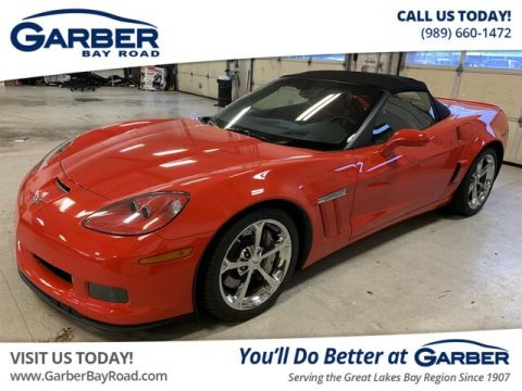 Pre-Owned 2012 Chevrolet Corvette Grand Sport With Navigation