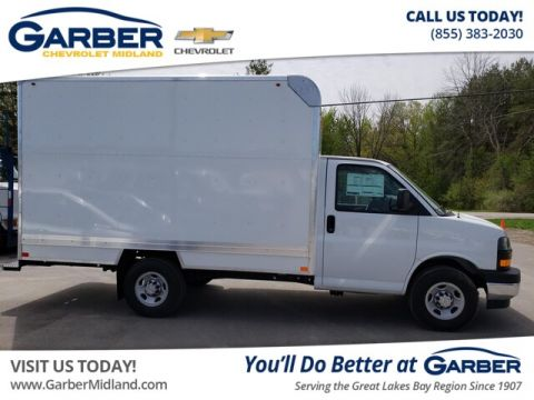 New 2019 Chevrolet Express Cutaway Work Van RWD Chassis