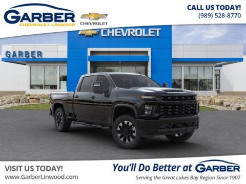 New 2020 Chevrolet Silverado 2500HD Custom 4WD