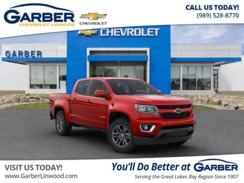 New 2020 Chevrolet Colorado WT 4WD