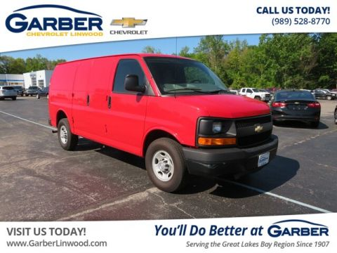 Pre-Owned 2015 Chevrolet Express 2500 RWD Cargo Van