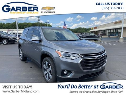 Pre-Owned 2019 Chevrolet Traverse LT Leather AWD