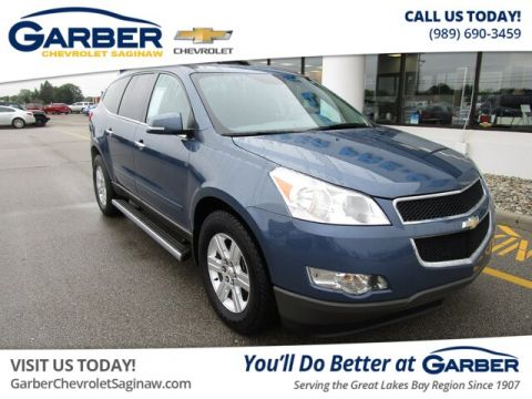 Pre-Owned 2012 Chevrolet Traverse 2LT With Navigation