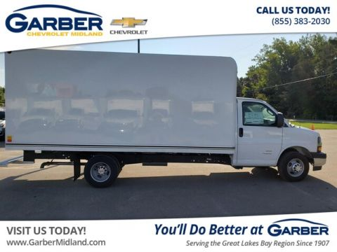 New 2019 Chevrolet Express Cutaway 4500 4500 Van RWD Chassis