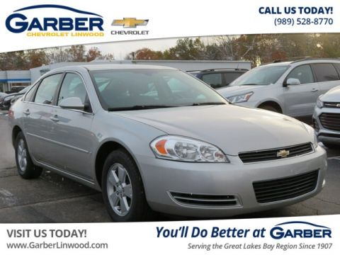 Pre-Owned 2008 Chevrolet Impala LT w/3.5L