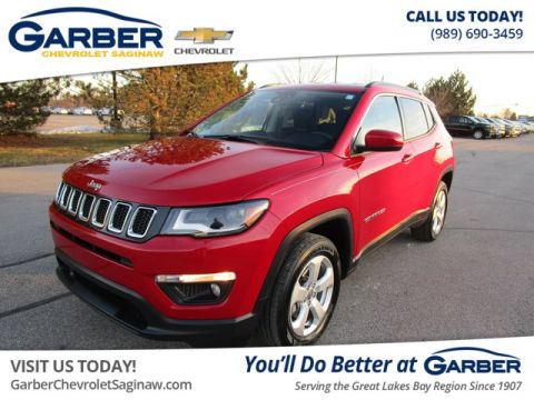 Pre-Owned 2018 Jeep Compass Latitude 4WD