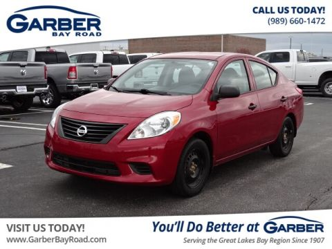 Pre-Owned 2014 Nissan Versa 1.6 S+