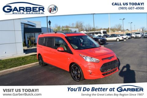 Pre-Owned 2017 Ford Transit Connect Titanium w/Rear Liftgate With Navigation