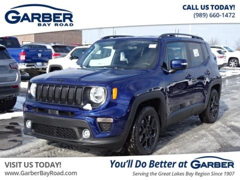 New 2020 Jeep Renegade Altitude FWD 4D Sport Utility